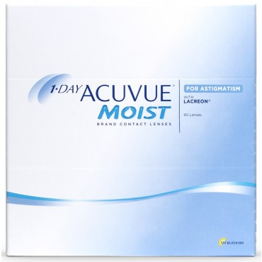 1-Day Acuvue Moist for Astigmatism (90) contact lenses from www.interlenses.com
