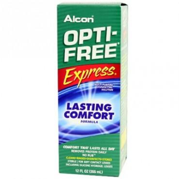 Optifree Express 1 x 355 ml. from www.interlenses.com