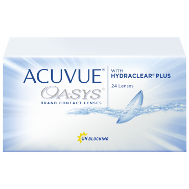 Acuvue Oasys (24) contact lenses from www.interlenses.com