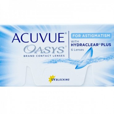 Acuvue Oasys for Astigmatism (6) contact lenses from www.interlenses.com