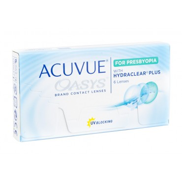 Acuvue Oasys for Presbyopia  contact lenses from www.interlenses.com
