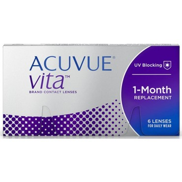 Acuvue Vita (6) contact lenses from www.interlenses.com