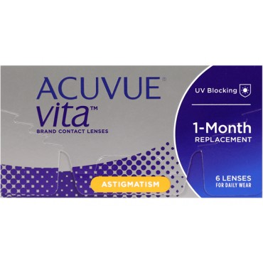 Acuvue Vita for Astigmatism (6) contact lenses from www.interlenses.com