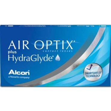 Air Optix plus HydraGlyde (6) contact lenses from www.interlenses.com