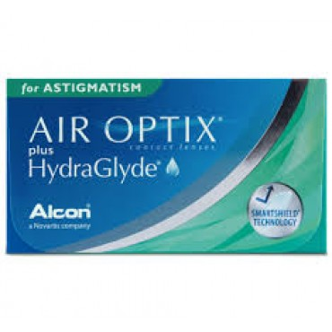 Air Optix Plus Hydraglyde for astigmatism (6) contact lenses from www.interlenses.com