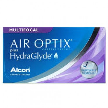 Air Optix Plus HydraGlyde Multifocal (6) contact lenses from www.interlenses.com