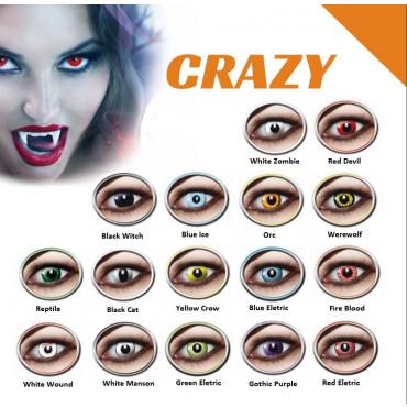 Crazy Lens Eyecatcher (2) contact lenses from www.interlenses.com
