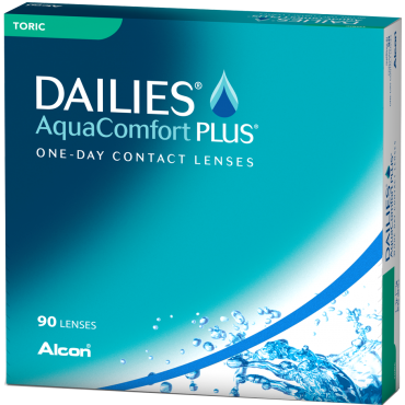 Dailies Aquacomfort Plus Toric (90) contact lenses from www.interlenses.com