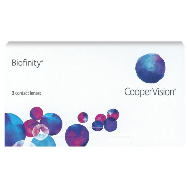 Biofinity (3) contact lenses from www.interlenses.com