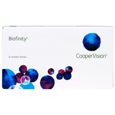 Biofinity (6) contact lenses from www.interlenses.com