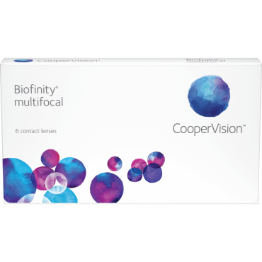 Biofinity Multifocal (6) contact lenses from www.interlenses.com