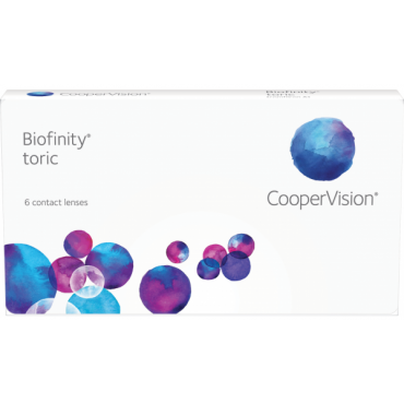 Biofinity Toric (6) contact lenses from www.interlenses.com