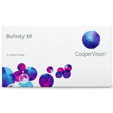 Biofinity XR (3) contact lenses from www.interlenses.com