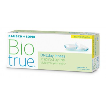 Biotrue Oneday for Presbyopia (30) contact lenses from www.interlenses.com