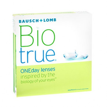 Biotrue ONEday (90) contact lenses from www.interlenses.com