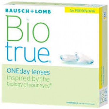 Biotrue Oneday for Presbyopia (90) contact lenses from www.interlenses.com