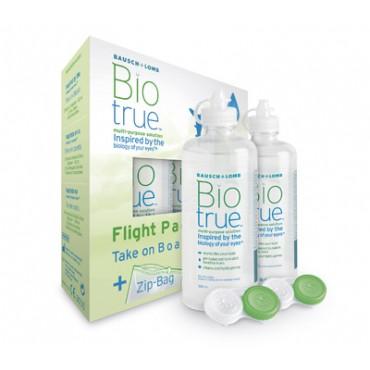 Biotrue Flight Pack - 2 x 60ml. from www.interlenses.com