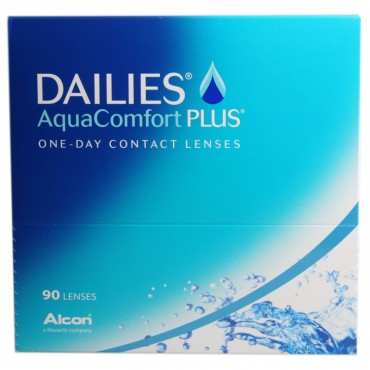 Dailies AquaComfort Plus (90) contact lenses from www.interlenses.com