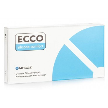 Ecco Silicone Comfort (6) contact lenses from www.interlenses.com