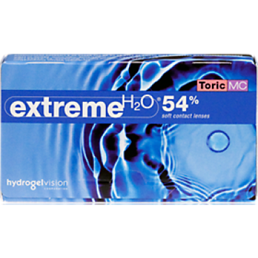 Extreme H2O 54% toric (6) contact lenses from www.interlenses.com