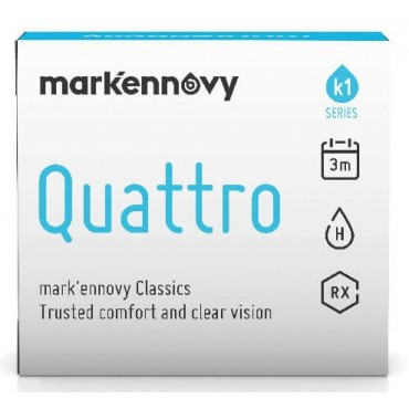 Mark'ennovy Quattro Toric (1) contact lenses from www.interlenses.com