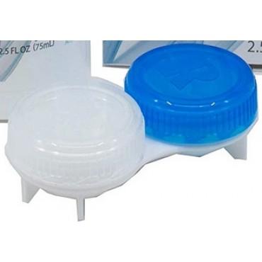 Screw-cap cleaner case from www.interlenses.com