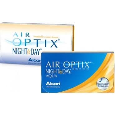 Air Optix Night and Day Aqua (6) contact lenses from www.interlenses.com