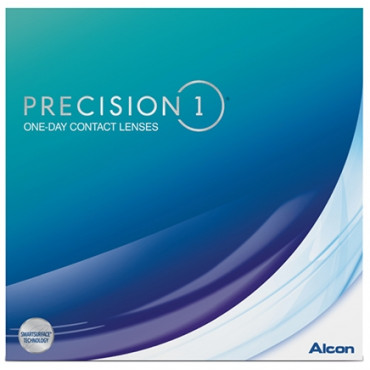 Precision 1 Dailies 90 contact lenses from www.interlenses.com