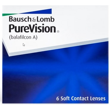 Purevision (6) contact lenses from www.interlenses.com
