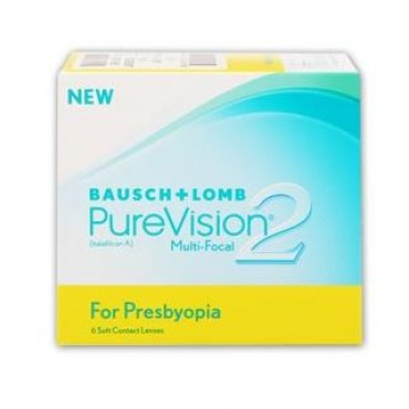PureVision2 for Presbyopia (6) contact lenses from www.interlenses.com