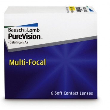 Purevision Multi-Focal  contact lenses from www.interlenses.com