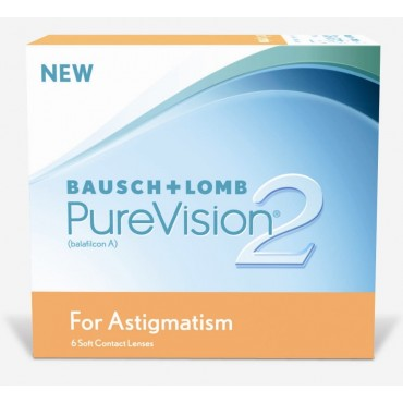 Purevision2 For Astigmatism (6) contact lenses from www.interlenses.com