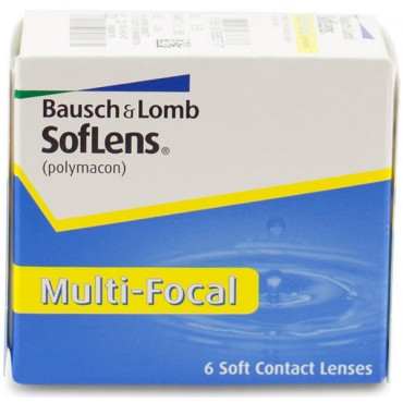 Soflens Multi-Focal  (6) contact lenses from www.interlenses.com
