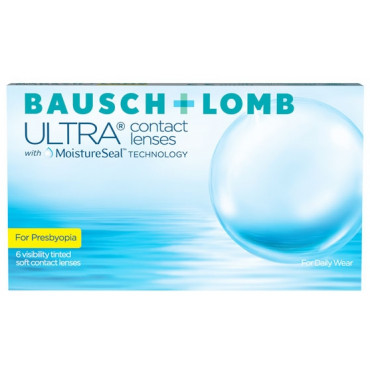 Bausch + Lomb ULTRA for Presbyopia (6)  contact lenses from www.interlenses.com