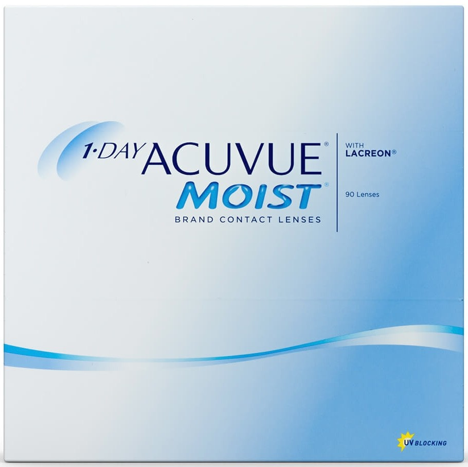 1 Day Acuvue Moist 90 Contact Lenses Interlenses Com