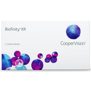 Biofinity XR 3-pack contact lenses