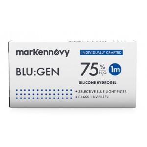 Blu:gen contact lenses 6-pack