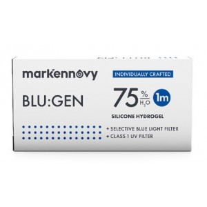 Blu:gen Toric contact lenses 6-pack