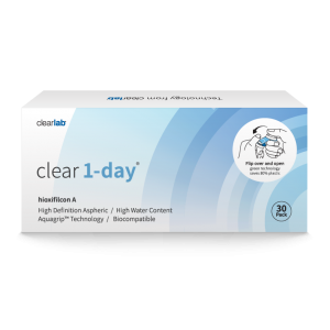 Clear1-day contact lenses (30-pack)